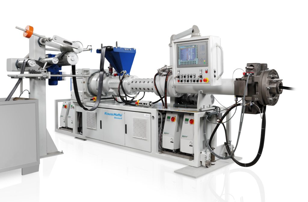Berstorff Extuder for production of profiles