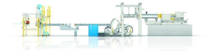 Berstorff Linka na výrobu fólií