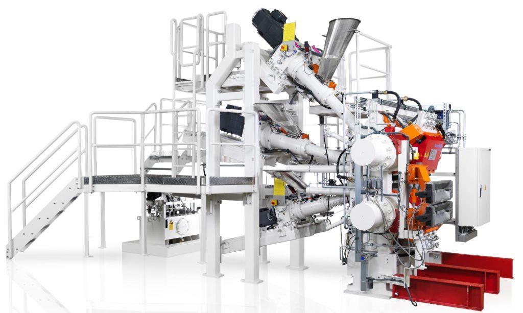 Berstorff Tire production line