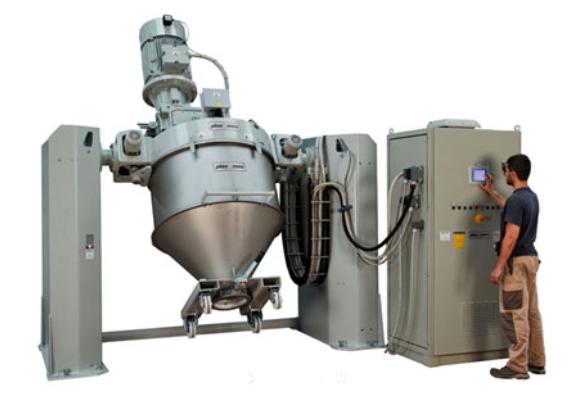 Plas mec - Container mixer