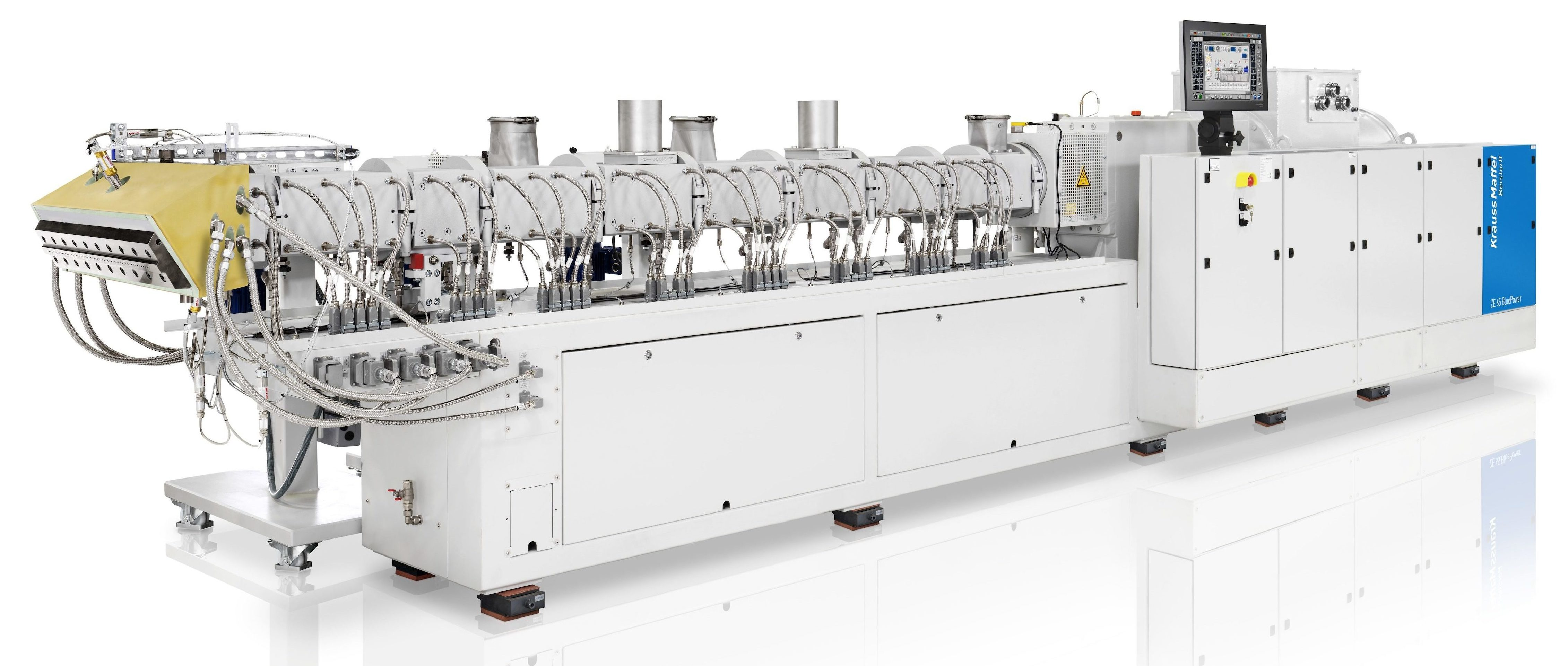 Compauding Twin screw extruder