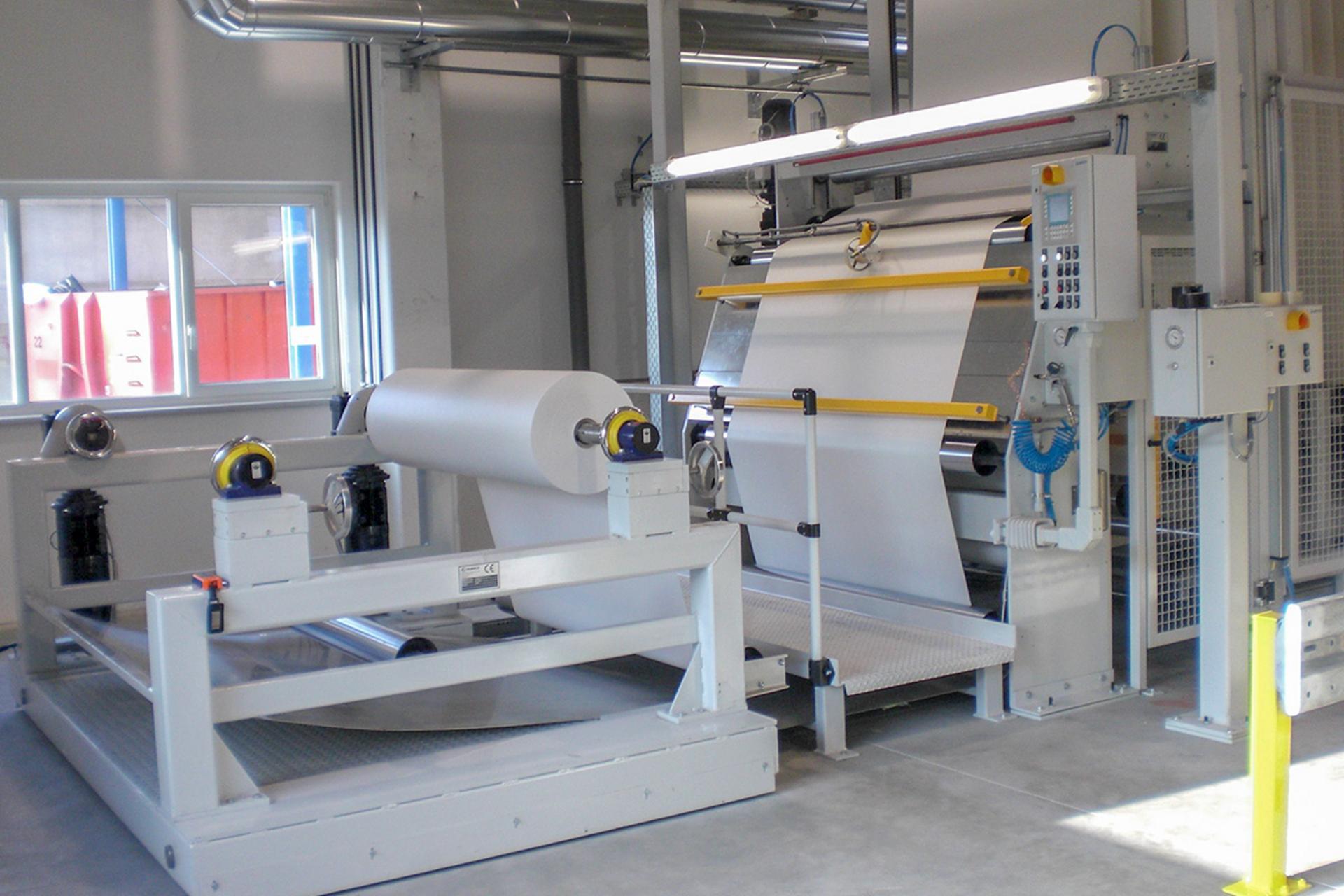 Olbrich - linka pro technický textil
